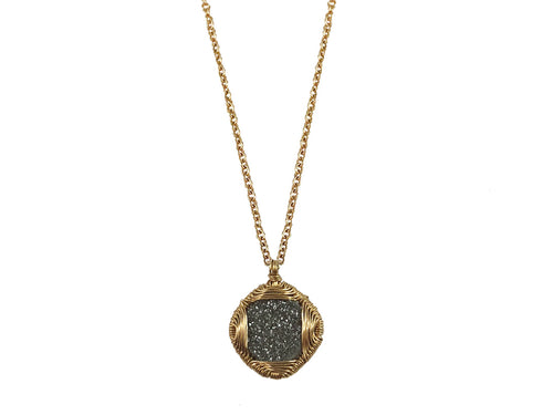 Dana Kellin Druzy Quartz Pendant Necklace at the Best Jewelry Store in Washington DC