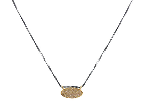 Silver Multi-Disk Necklace