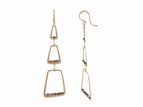 "Diamond ""Silk"" Earrings"