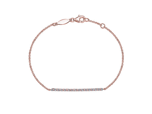 14K Rose Gold and Diamond Bracelet in Washington DC