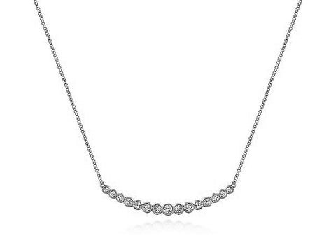 "Sterling Silver ""Wheat"" Necklace"