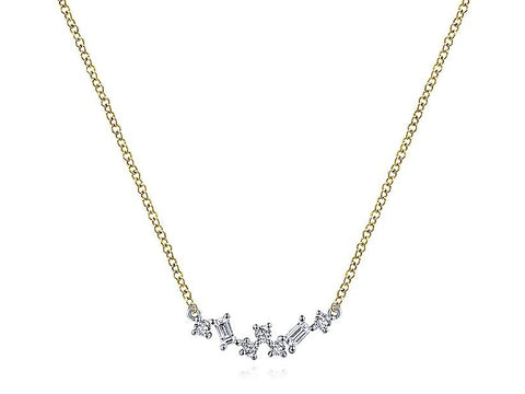 "Silver ""Leaves"" Necklace"