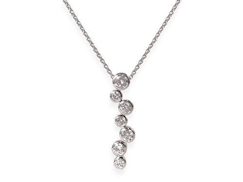 Unique Round Diamond Necklace at the Best Jewelry Store in Washington DC