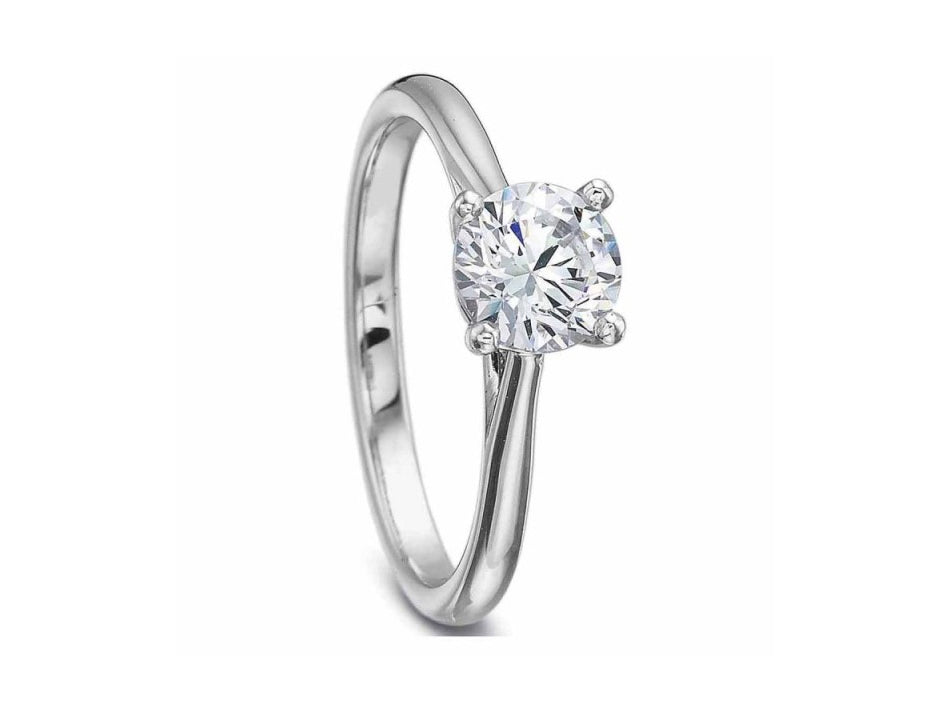 Platinum Diamond Engagement Ring at the Best Jewelry Store in Washington DC