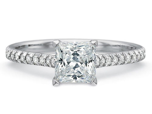 Platinum Engagement Ring at the Best Jewelry Store in Washington DC