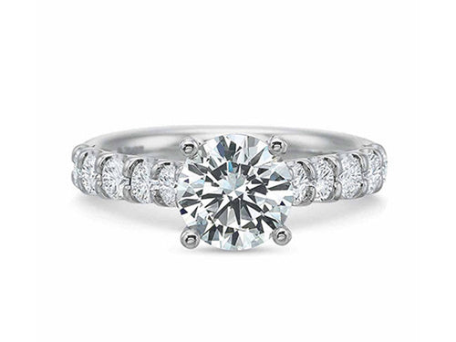 White Gold, Platinum and Diamond Engagement Ring at the Best Jewelry Store in Washington DC