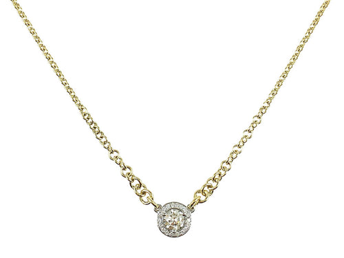 Yellow Gold and Diamond Necklace in Washington DC
