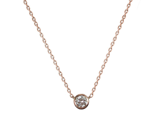 14K Rose Gold and Diamond Necklace in Washington DC