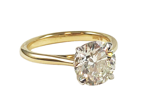 2 carat Round Engagement Ring at the Best Jewelry Store in Washington DC