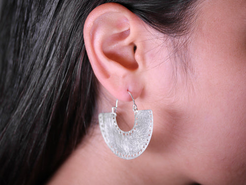 "Sterling Silver ""Maya"" Earrings"