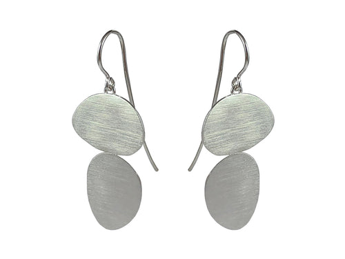 "Sterling Silver ""Stepping Stone"" Earrings"