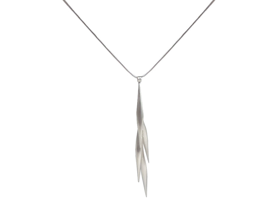 "Sterling Silver ""Tassel"" Necklace"