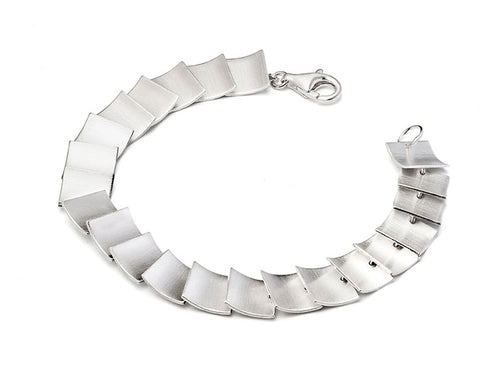 "Sterling Silver ""Pages"" Bracelet"