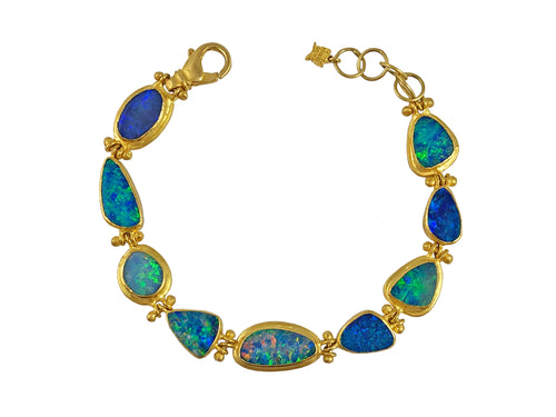 Opal Doublet Bracelet at the Best Jewelry Store in Washington DC