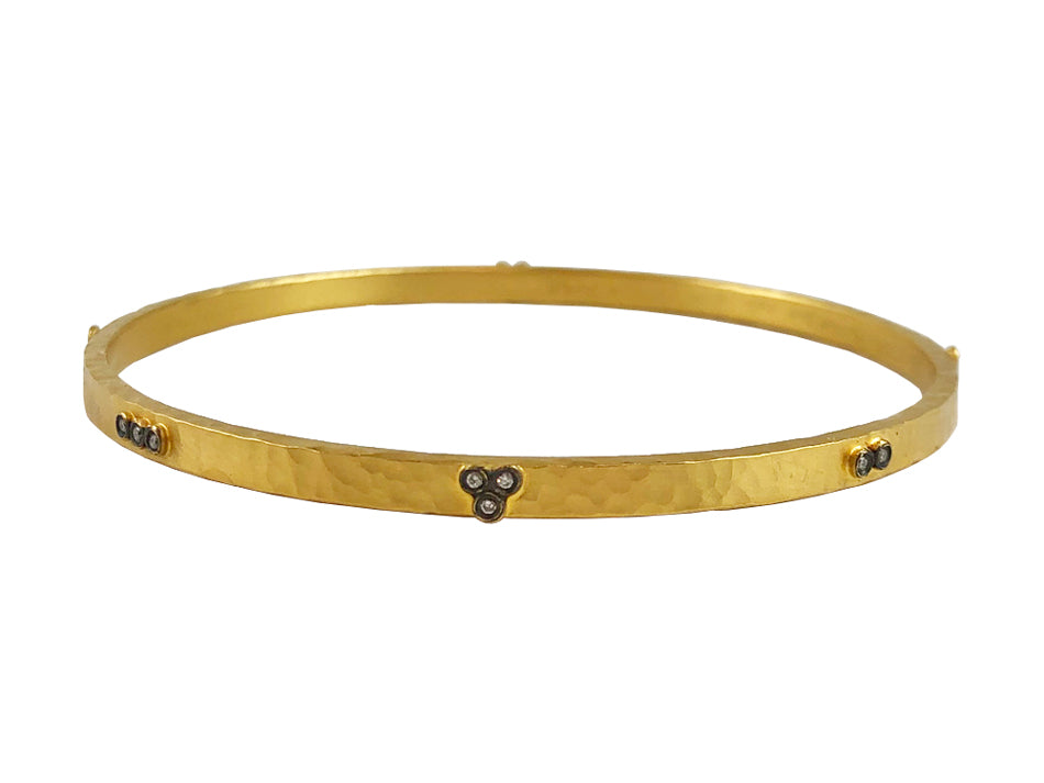 Stackable Diamond Bangle Bracelet at the Best Jewelry Store in Washington DC