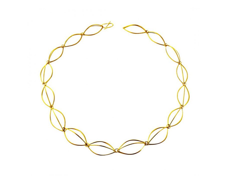 Elegant Yellow Gold Necklace