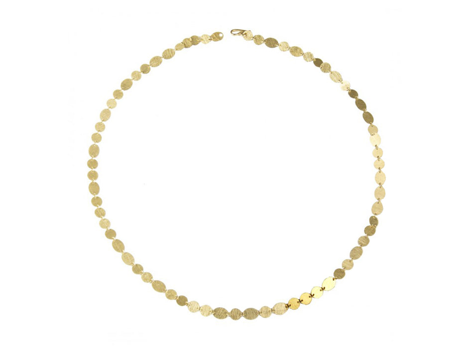 Shimmering Gold Party Necklace