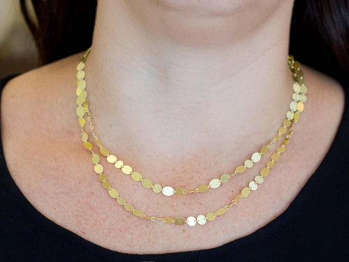 Shower of Gold Party Necklace