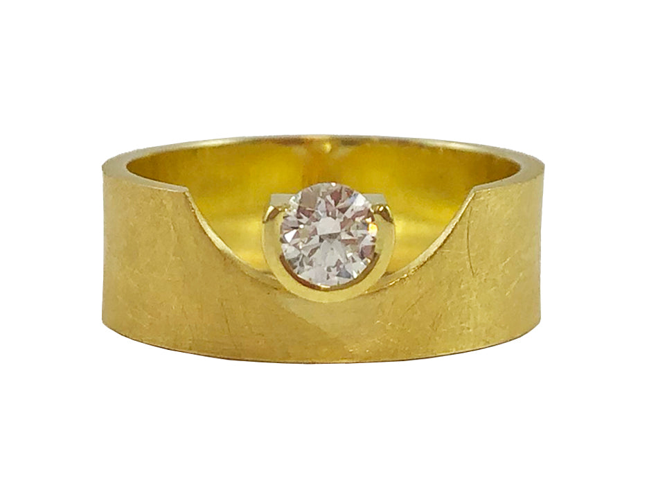 Majoral 18K Yellow Gold and Diamond Ring in Washington DC