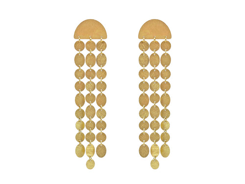 "18K Yellow Gold ""Party"" Earrings"