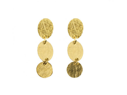 18K Yellow Gold Earrings in Washington DC