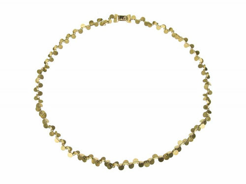 "18K Yellow Gold ""Papallones"" Necklace"
