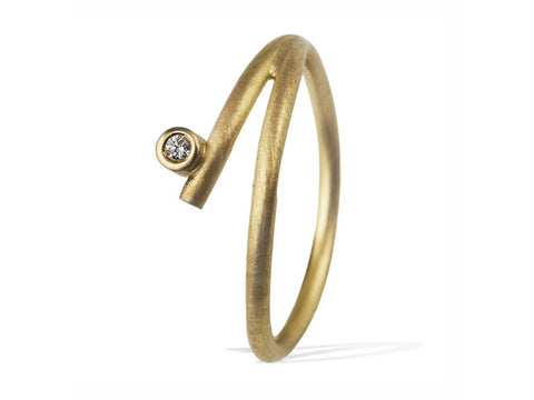 "18K Yellow Gold ""Vibe"" Ring"