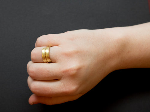 "18K Yellow Gold ""Volta"" Ring"