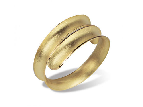 "Majoral 18K Yellow Gold ""Volta"" Ring"