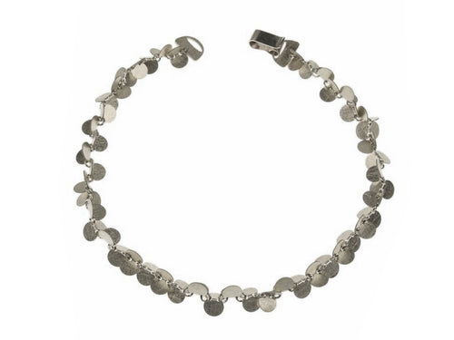 "Sterling Silver ""Papallones"" Bracelet"