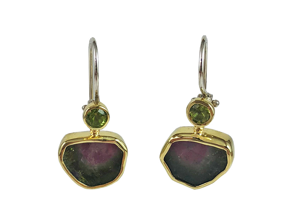 dangle alternative p e beaded gold tourmaline views pink htm earrings trinidad filled