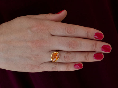 Margoni Mandarin Garnet Ring at the Best Jewelry Store in Washington DC