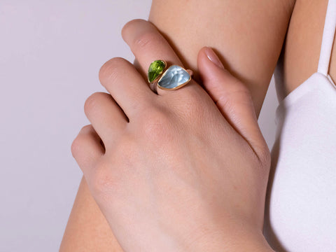 Seabreeze Cool Gemstone Ring