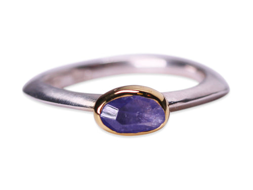 Tanzanite Stackable Ring