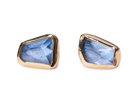 """Topia"" Stud Earrings in Yellow Gold"