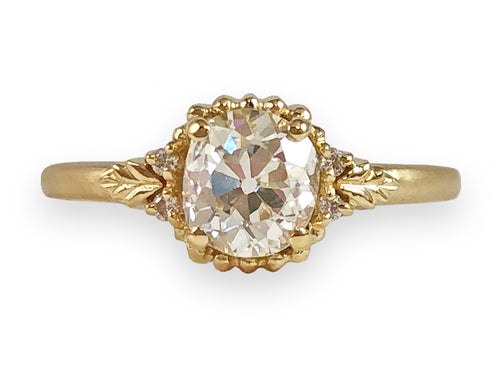 Megan Thorne 18K Yellow Gold and Diamond Engagement Ring at the Best Jewelry Store in Washington DC