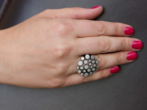 "Greek Island ""Cobblestone"" Ring"