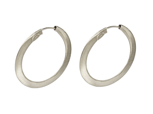 Sterling Silver Hoop Earrings in Washington DC