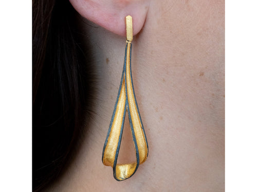 Unique Gold Plated Earrings at the Best Jewelry Store in Washington DC