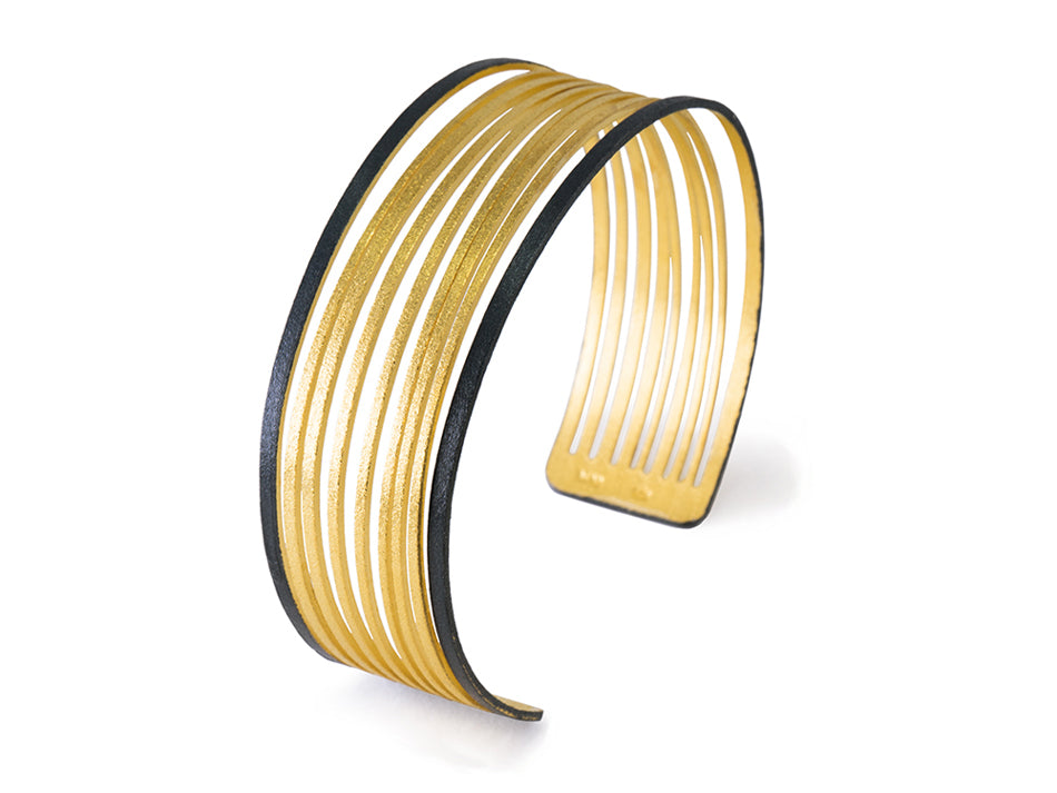 Gold Plated Cuff Bracelet at the Best Jewelry Store in Washington DC