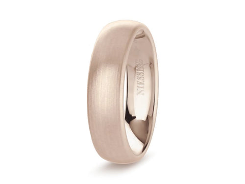 Niessing Rosewood Gold Men's Wedding Band in Washington DC