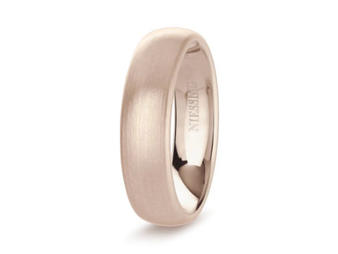 Black Ceramic and Wood Pattern Men's Wedding Band