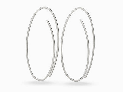 "Platinum ""Linear"" Earrings"