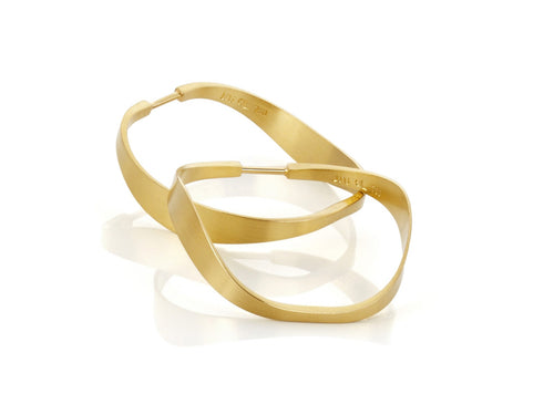 Hoop Gold Earring at the Best Jewelry Store in Washington DC