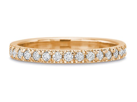 "18K Yellow Gold and Diamond ""Nicole"" Engagement Ring"