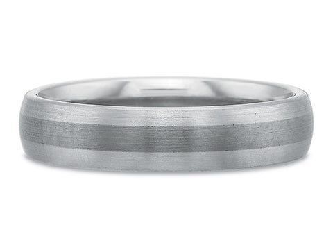 Black Diamond Men's Wedding Band