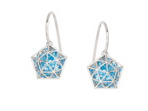 "Dramatic Diamond ""Frisson"" Earrings"