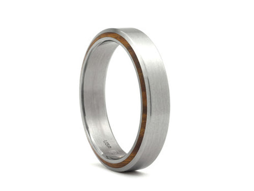 Satoru Wooden Mens Wedding Band in Washington DC