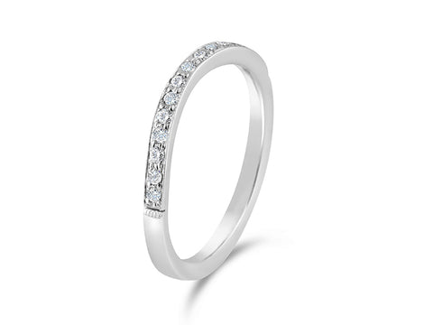 Five-Diamond Wedding Band