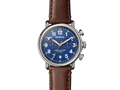 The Runwell Chrono 41MM Men's Watch by Shinola